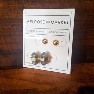 Stone Earrings Melrose and Market